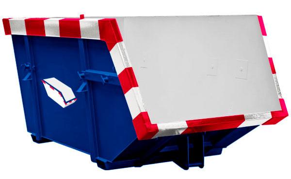 Afvalcontainers in verschillende formaten